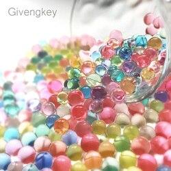 2000 pièces pistolet à eau balles cristal balle molle Paintbal jouet infrarouge balles de tir sol eau perles gelée