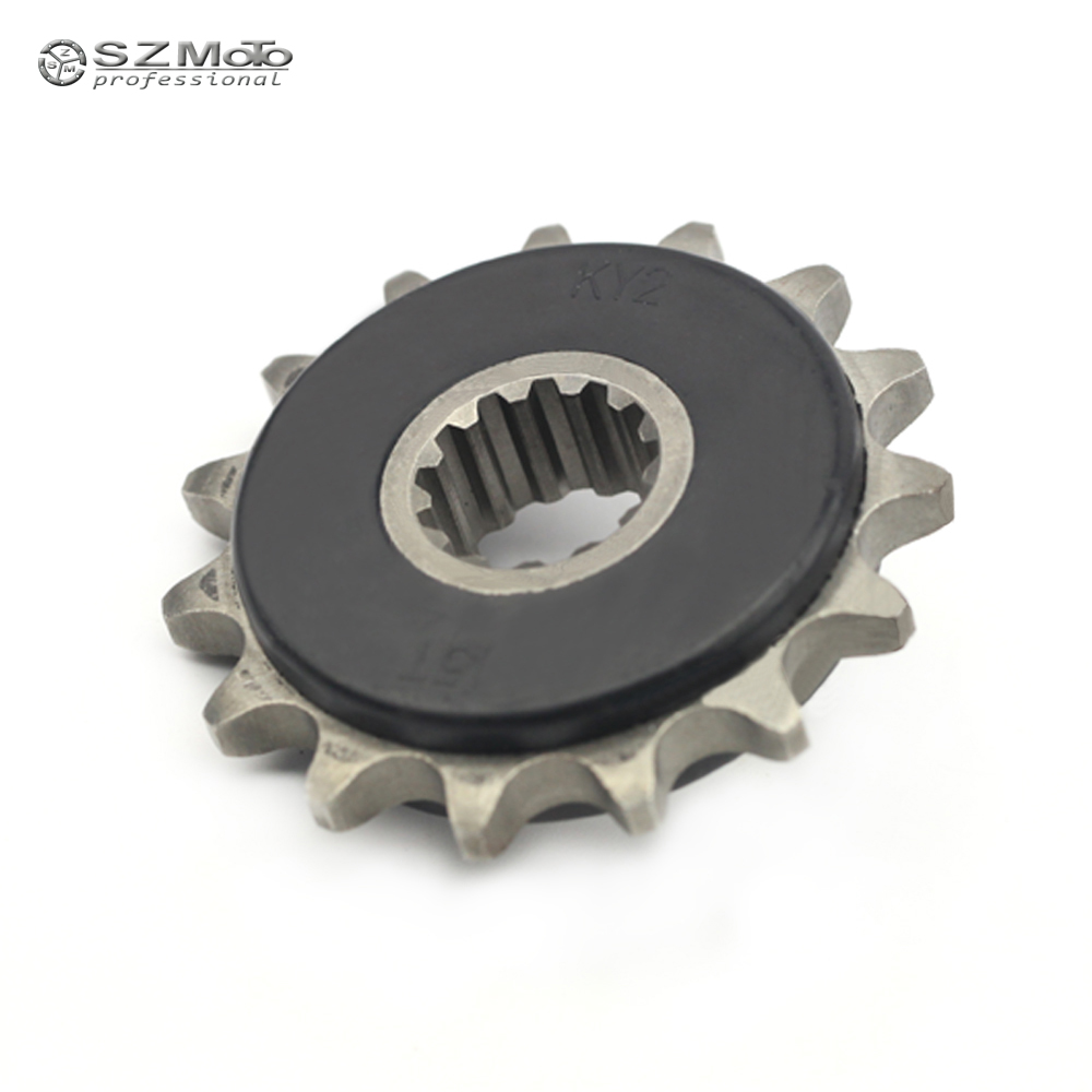 Front Sprocket Drive Gear 525 15T For HONDA CB-<font><b>1</b></font> <font><b>400</b></font> CB500/S CBF500 CB400 <font><b>V</b></font>-TEC SUPER FOUR Bol Dor Motorcycle Accessories image