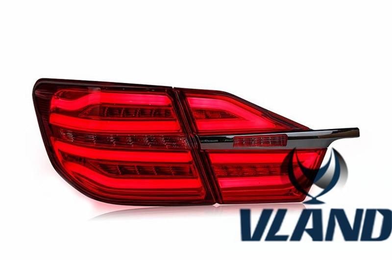 Бесплатная доставка Вланд завод авто аксессуар для Camry светодиодные задние света 2015 2016 светодиодные задние лампы подключи и играй