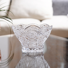 Shipping of European fruit dish creative living glass candy modern crystal bowl large fashion dry