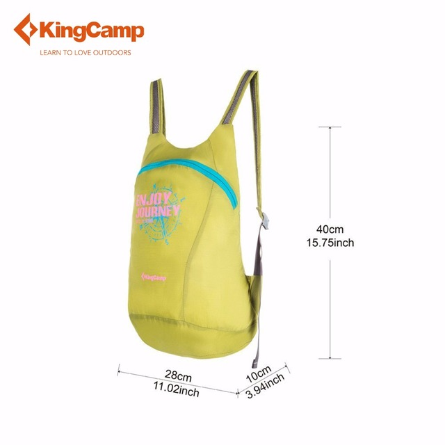 KingCamp Foldable 12L Ultra-light Waterproof Bag Portable Travel Sport Bag Women's Backpack Climbing Bag Ladies