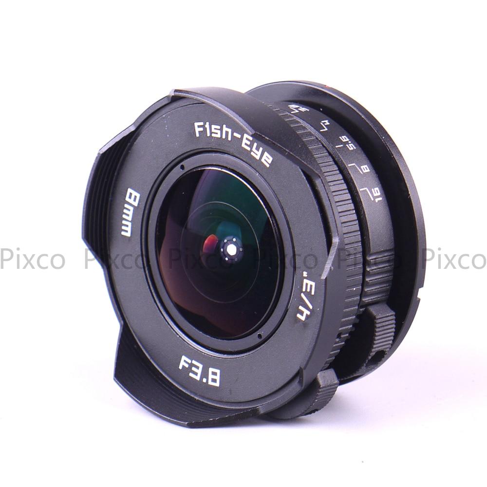 8mm Brandpuntsafstand F3.8 Fish-eye CCTV Lenskleur voor Micro Four - Camera en foto - Foto 6