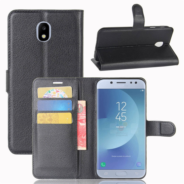 reputable site 471f1 3c791 US $3.9 9% OFF GFC Wallet Cover for Samsung Galaxy J5 2017 J530F/DS SM  J530F/DS J530FM SM J530FM Leather Case for Samsung J 5 2017 J530 -in Fitted  ...