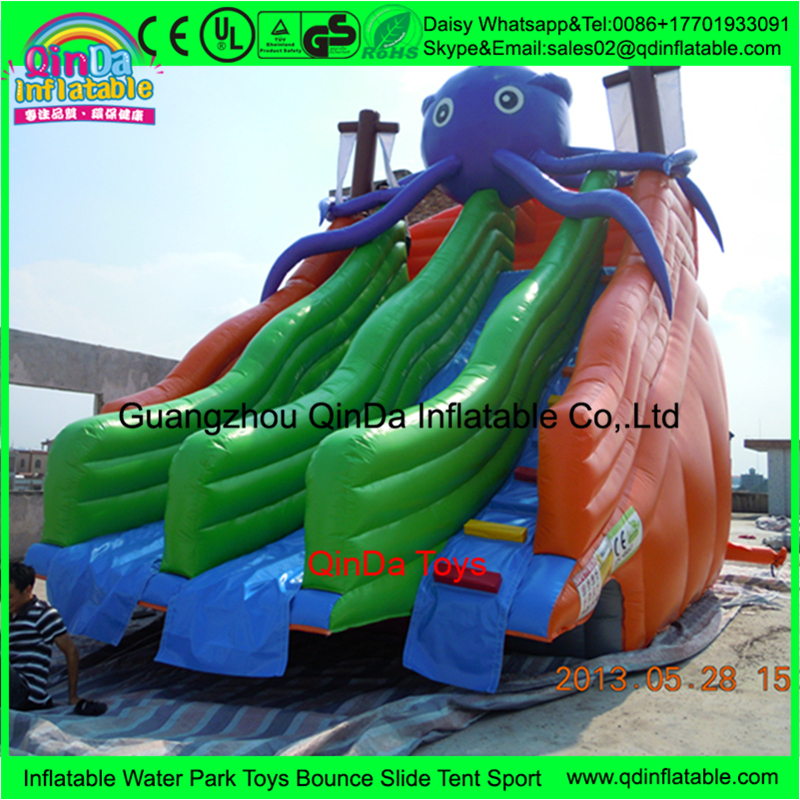 Bouncy slide PVC inflatable water slide clearance/giant inflatable water slide for adult and children,puzzle toy sport swaddledesigns sunwashed pastels sterling mod circles голубая