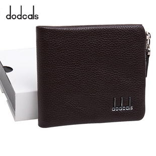 Dodcals wallet male wallet cowhide wallet wallet purse купить на ... 27cddab85eaa7