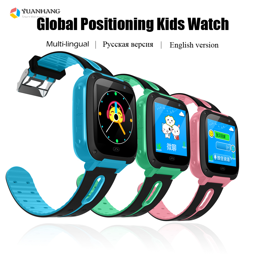 Smart Real-time Tracker Location SOS Call Remote Camera Monitor Flashlight Kids Children Watch Student Wristwatch PK Q50 Q528