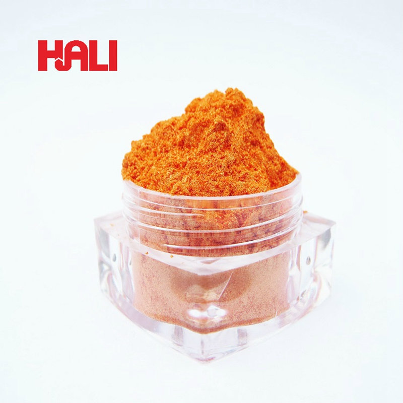 supply quality pearl pigment crystal pearlescent pigment bright effect pigment 1lot 200gram 6421 magic orange free
