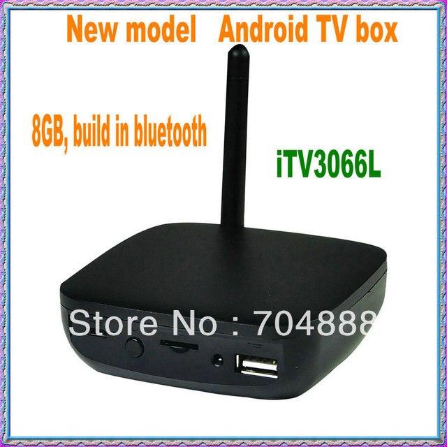 Free shipping NEW model Android 4.2 Android TV Box dual core Google tv box, Rockchip3066 smart TV box