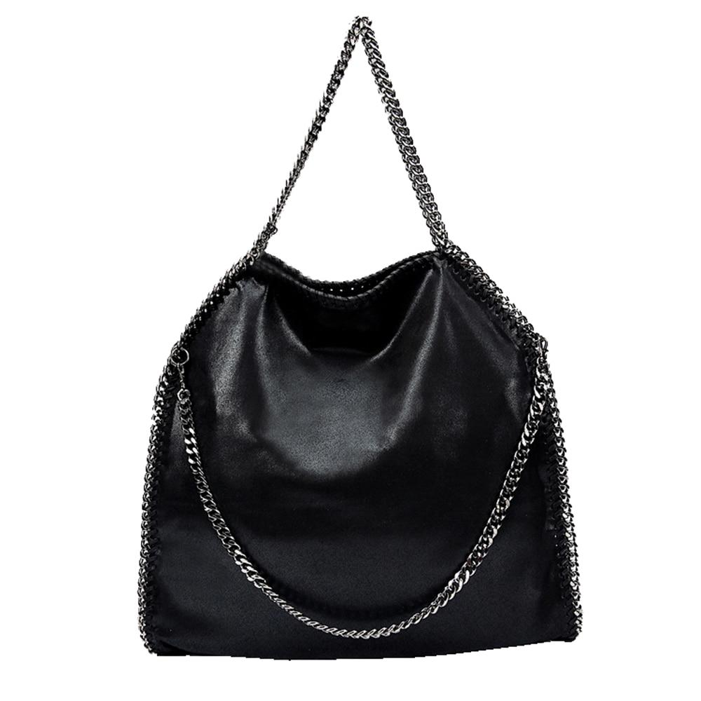 Esiposs Women chain bag Crossbody Bag Shiny Women Leather female star Chain  shoulder Bags Luxury Brand Bolsos messenger handbag f62eac1fb4
