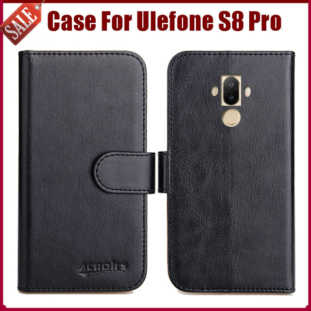 more photos 8c3c5 b5587 US $4.59 8% OFF|Hot Sale! Ulefone S8 Pro Case New Arrival 6 Colors High  Quality Flip Leather Protective Cover For Ulefone S8 Pro Case-in Flip Cases  ...