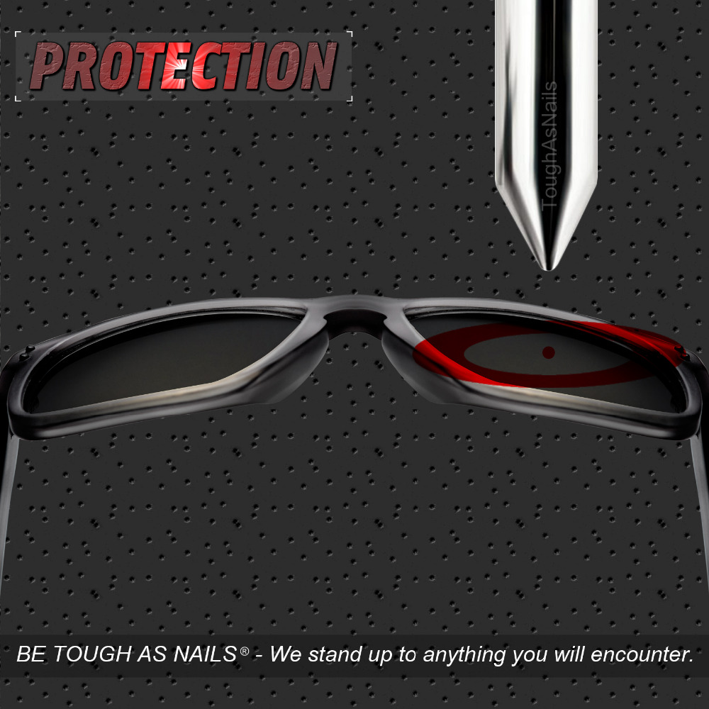 Image 5 - ToughAsNails Polarized Replacement Lenses for Oakley Catalyst Sunglasses Fire Red Mirrored Color (Lens Only)Eyewear Accessories   -