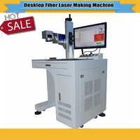 High accuracy 20/30W desktop fiber laser marking machine metal marking machine used for stainless steel,copper etc