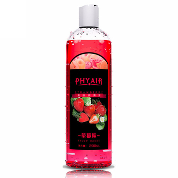 Lubricant anal grease for sexlube gel Vagina lubrication 200ml fruit taste water based oil lubricante sexual fruit flavor 6
