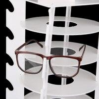 360 градусов вращающийся Солнцезащитные очки для женщин Очки розничный магазин Дисплей подразделения стенд держатель