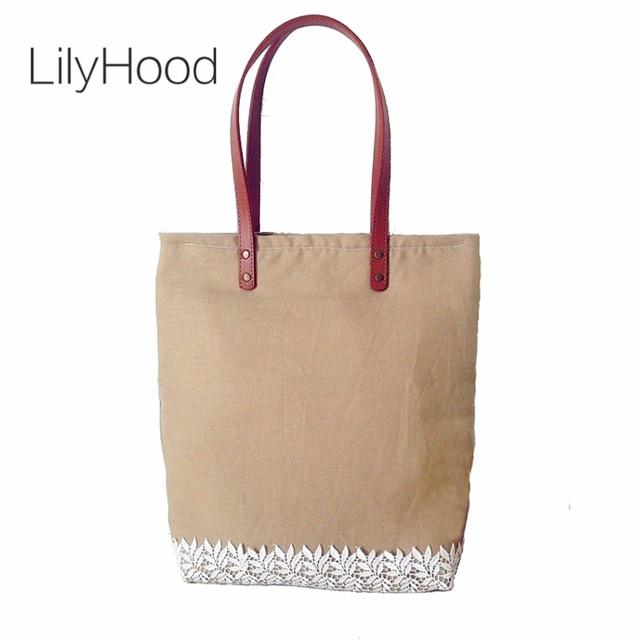 yute a bolsos Lace mujeres mano hechos Chic LilyHood elegante nzH8OqYO