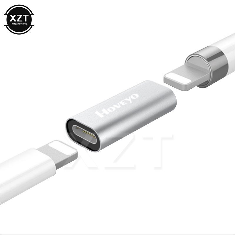For Apple Pencil Lightning Cable Charging Adapter for iPad Pro Male to Female