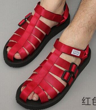 new york 7ca6e e4921 US $18.99 |Gli antichi Romani sandali degli uomini scarpe da spiaggia  baotou freddo maschile dell'edizione del han scarpe per il tempo libero  nuovo ...