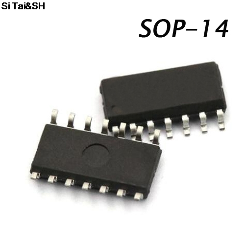 10PCS <font><b>74HC125D</b></font> SOP14 74HC125 SOP SN74HC125DR SOP-14 SN74HC125 SMD new and original IC image