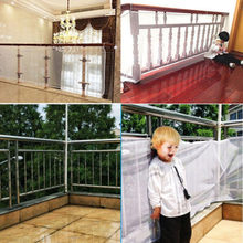 Safety 1st Railnet Net Pet Child Guard Baby Kid Stair Balcony Deck Gate Dog Mesh Valance Home Textile For Safety(China)