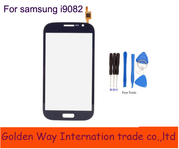 Angcoucoux Touch Screen Panel For Samsung Galaxy Grand i9082 GT-i9082 I9080 GT-i9080 Touchscreen Sensor Front Glass Replacement