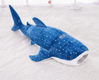 huge 150cm dark blue whale plush toy skin, just case, no fillings, christmas gift w0249