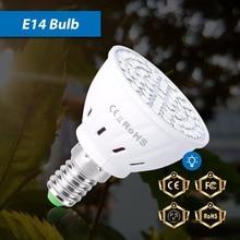 E27 Indoor Garden LED Grow Light E14 Plant Light GU10 Grow LED Bulbs Seedling MR16 Phyto Lamp B22 Growbox Lights For Plants 220V