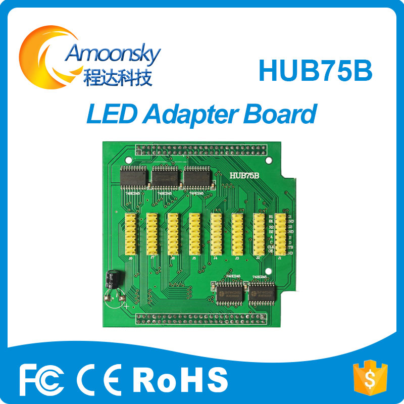 Hub75B Led Adapter Board Led Pinboard For Fixed Led Display Led Receiving Card