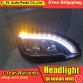 Car Styling for S280 S320 S500 S600 Headlights 1998-2001 W220 LED Headlight DRL Bi Xenon Lens High Low Beam Parking HID Fog Lamp