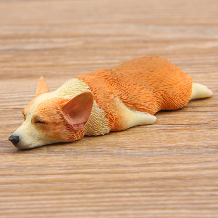 Groceries Japan Sleepy Corgi Cat PVC Action Figures Toys DIY Decoration Gifts