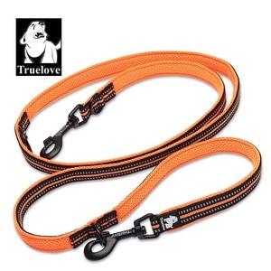 Image 4 - Truelove 7 In 1 Multi Function Adjustable Dog Lead Hand Free Pet Training Leash Reflective Multi Purpose Dog Leash Walk 2 Dogs