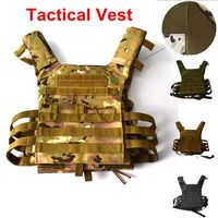 1000D Hunting Tactical Vest Military Molle Plate Carrier Magazine Airsoft Paintball CS Outdoor Protective Lightweight Vest
