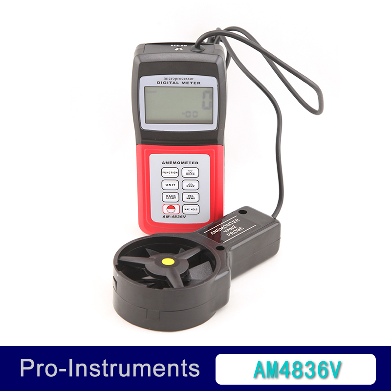 Landtek AM-4836V Handheld Digital Anemometer Air Volume Wind Speed Meter / Temperature Measuring with Vane Sensor Backlight OD айтматов ч т ранние журавли