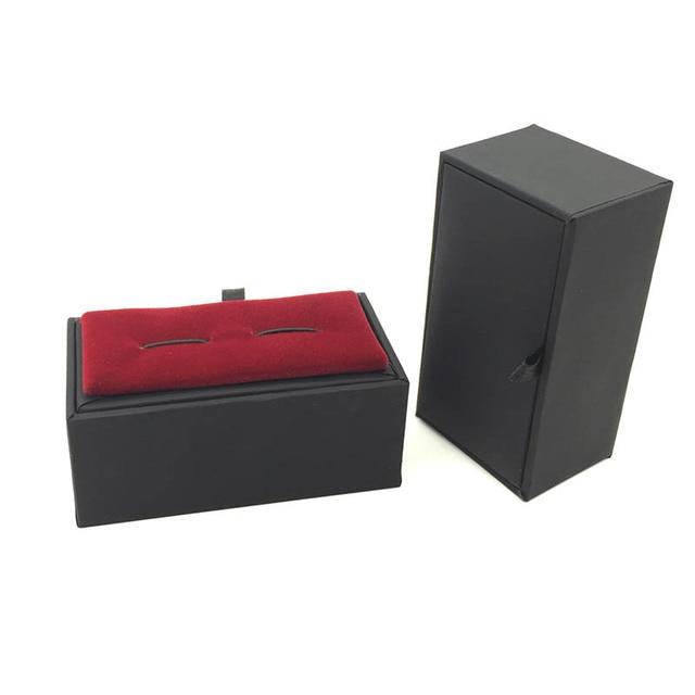 Red Cufflink Show Case Gift Box Display