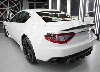 JIOYNG Carbon fiber CAR REAR WING TRUNK SPOILER FOR Maserati GranTurismo GT GTS Coupe 2DOOR 2008-2017 FAST BY EMS maserati granturismo carbon spoiler