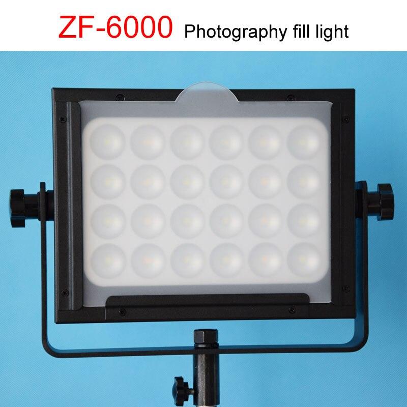 Orsda ZF-6000 lumière LED lumières éclairage lampe ZF6000 micro film reflex appareil photo lumières puissance photographie studio