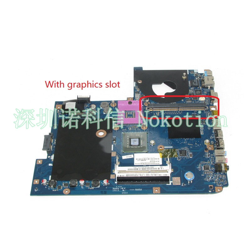 NOKOTION MBPCM02001 MB.PCM02.001 KAQB0 laptop motherboard For acer aspire 5935 5935G GM45 DDR3 LA-5011P With graphics slot kefu q5wv8 la 8331p motherboard for acer aspire v3 551g laptop motherboard original tested v3 551 motherboard