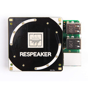 Image 3 - ReSpeaker 4 Mic Mảng cho Raspberry Pi, là một quad microphone board mở rộng