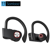 Samload Sport Bluetooth Headphone Wireless Bluetooth Earphone Waterproof Headset Noise Reduction Stereo With Microphone