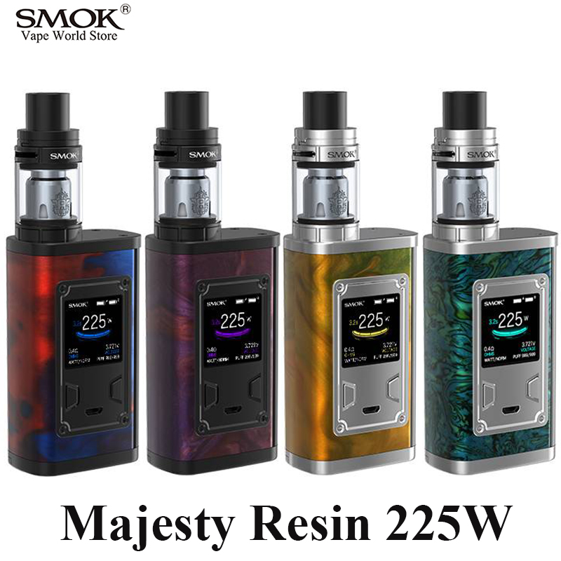 Vape SMOK Majesty Resin Kit E Electronic Cigarette Vape Box Mod Vaporizer X-Baby VS SMOK Alien iStick Pico eVic VTC Mini S178