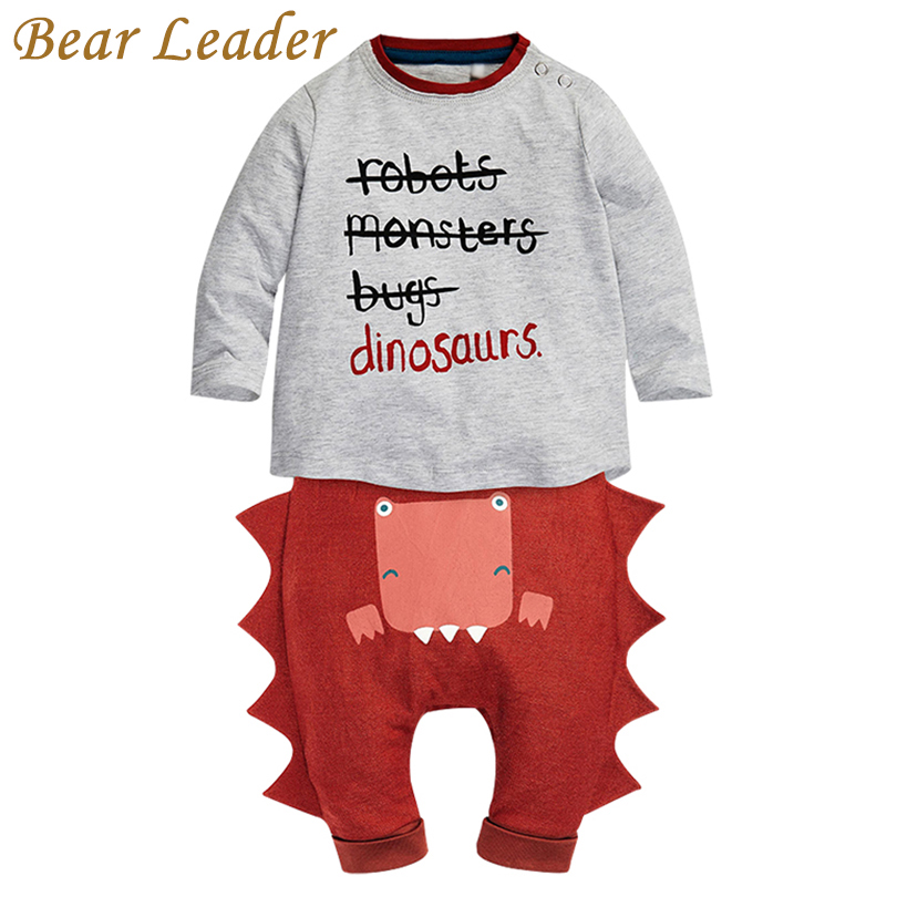 Bear Leader Baby Clothing Sets 2016 New Winter Baby Clothes Infant Clothes Letter T-shirt+Pants 2pcs Newbron Clothes
