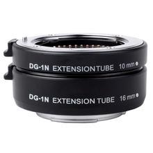 DG-1N Câmera Anel Adaptador Anel Adaptador Macro Tubo de Extensão Automática Set Fácil de Foco para Nikon Lente Fotografia Acessórios