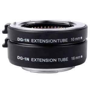 Camera Macro Automatic Extension Tube Adapter Ring Set For Nikon Lens