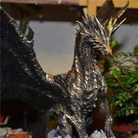3 Colors Original Japan Monster Hunter Ksardaora Kushala Daora Creators Model White Rusted Style Action Figure Toy 32cm Height