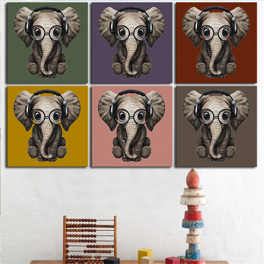 Interesting 50 elephant wall decor design ideas of best for Elephant wall art