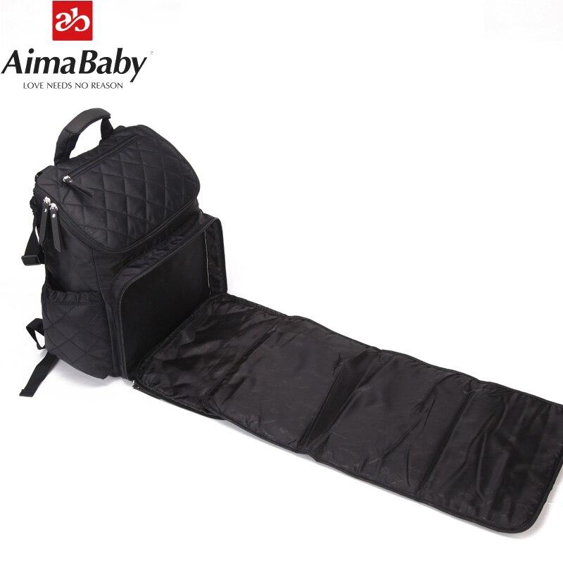 Bolsa de pañales grande Mochila impermeable Bolsa de bebé - Pañales y entrenamiento para ir al baño - foto 5
