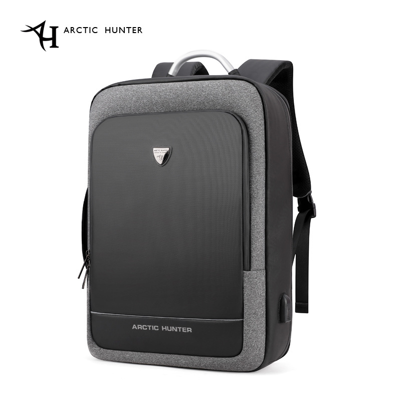 ARCTIC HUNTER 17inch USB Waterproof Anti Theft Laptop Men's Bags Sport Travel Business Notebook Male Backpack Schoolbag Pack