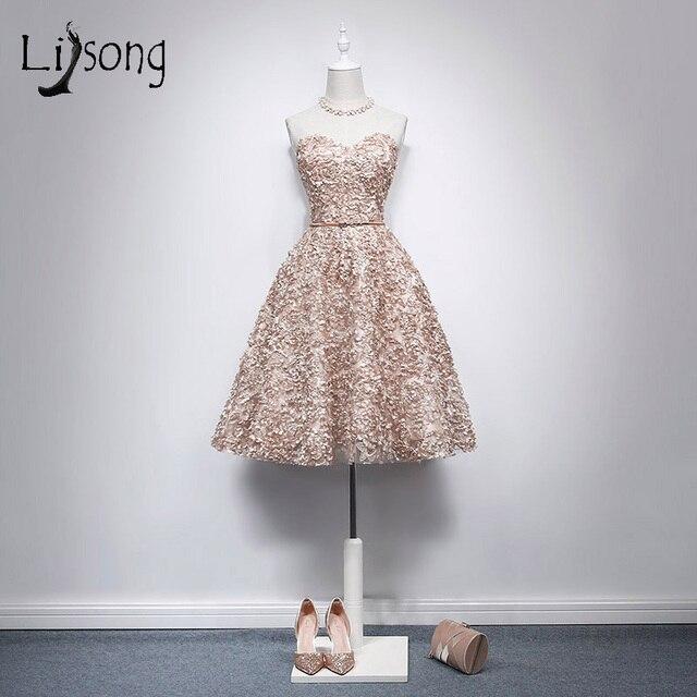 knee length gold dress