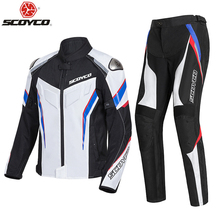 Pant Motorcycle-Jacket Motocross SCOYCO Protective-Gear Breathable And Summer Chaqueta