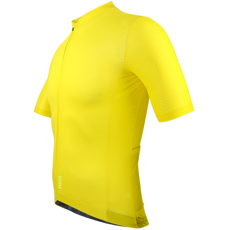 Image 2 - 2018 Pro team Quick Dry Cycling Jersey Summer Short Sleeve men's MTB Bike Cycling Clothing yellow black bycicle maillot ciclismo-in Cycling Jerseys from Sports & Entertainment