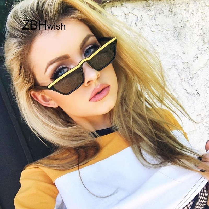 Small Square Sunglasses Women Men Vintage Brand Designer Sun Glasses Female  Ladies Metal Frame UV400 Gafas De Sol